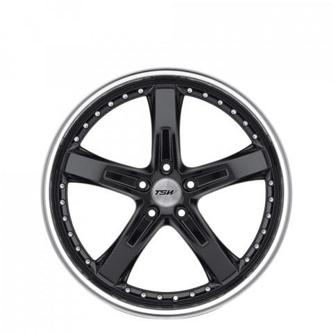 Jarama - Gloss Black W/Mirror Cut Lip Wheels
