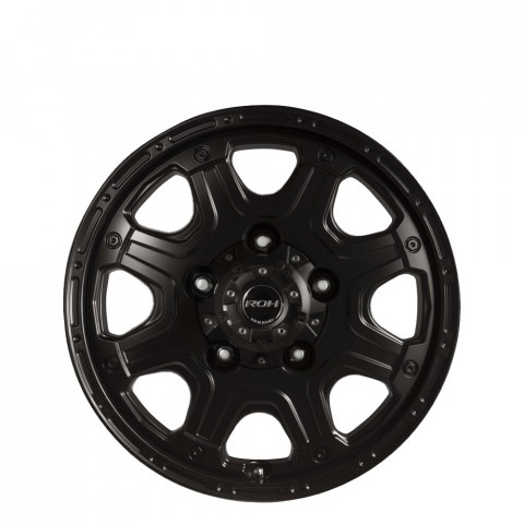 Octagon - Matt Black Wheels