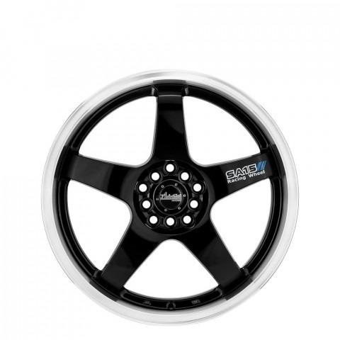 SA15 - Gloss Black/Lip Polish Wheels
