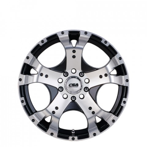 Jackal - Black M-Face SC Wheels