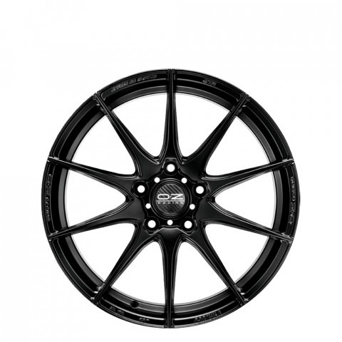 Formula HLT - Matt Black Wheels