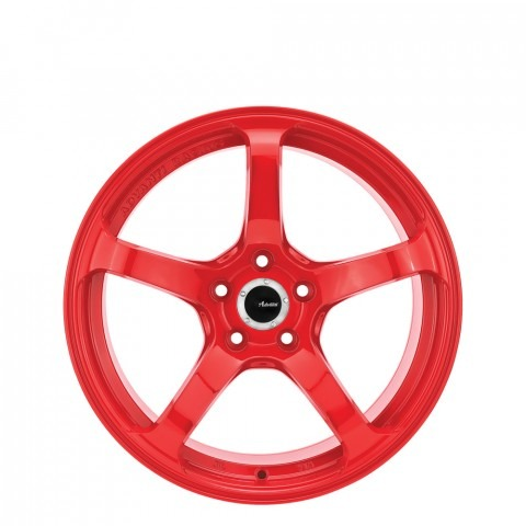 N722 DST - Gloss Red Wheels