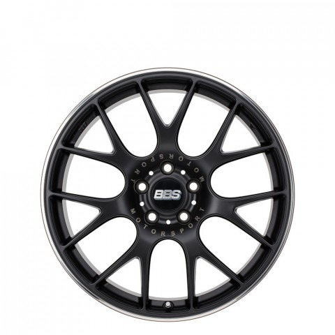 CH-R - Matte Black with Stainless Steel Rim Protector Wheels