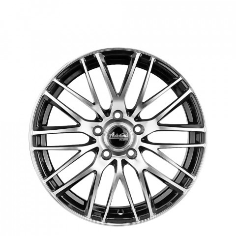 Hysteria - Gloss Black Full Polish Wheels