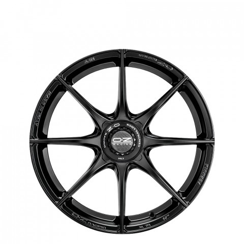 Formula HLT - Matt Black - Centre Lock Cap Wheels
