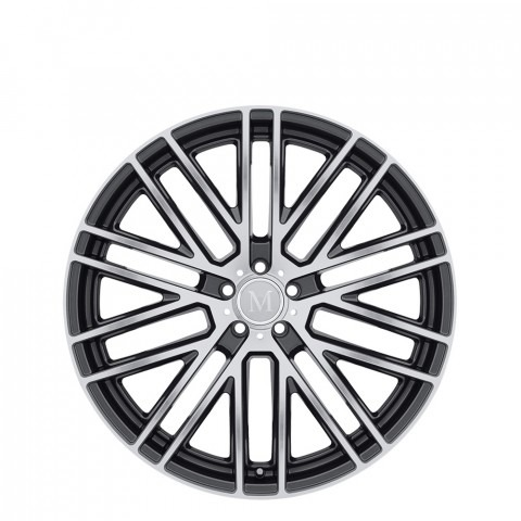 Masche - Gloss Gunmetal W/Mirror Cut Face Wheels