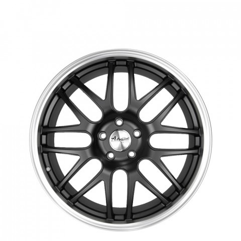 Injection - Matt Black Lip Polish Wheels