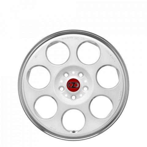 Anniversary 45 - Race White Diamond Lip Wheels