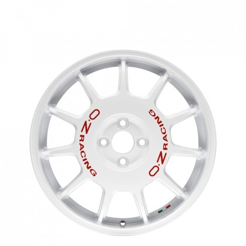 Leggenda - White + Red Lettering Wheels