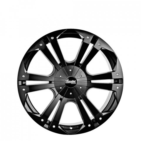 Thunder - Matt Black Wheels
