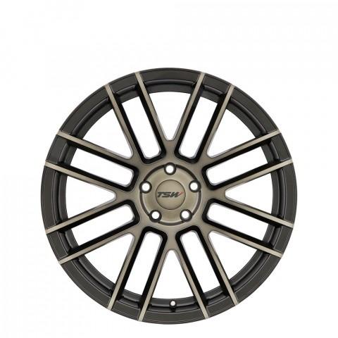 Mosport - Matte Black W/Machine Face & Dark Tint Wheels