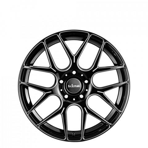 Matrix - Black Piped Wheels
