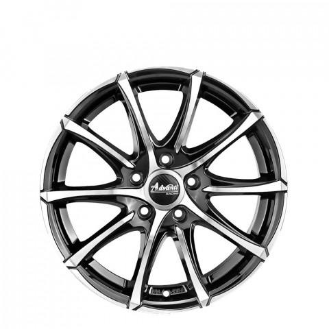 Turbine - Gloss Black Full Polish Wheels