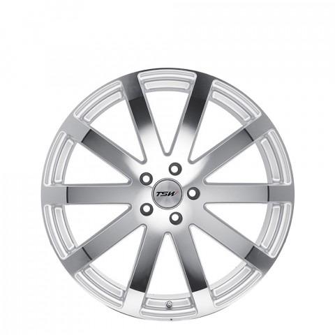 Brooklands - Silver W/Mirror Cut Face Wheels