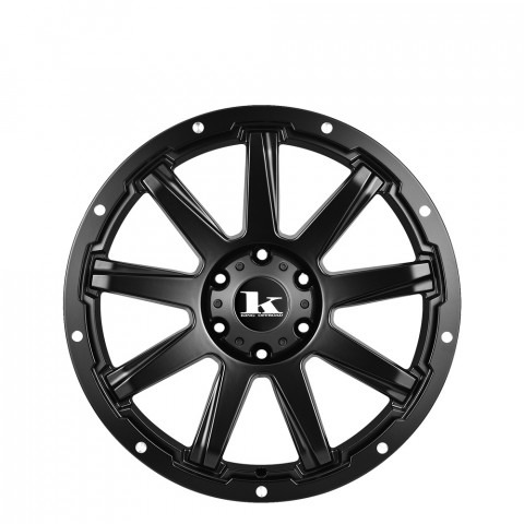 Gator - Satin Black Wheels