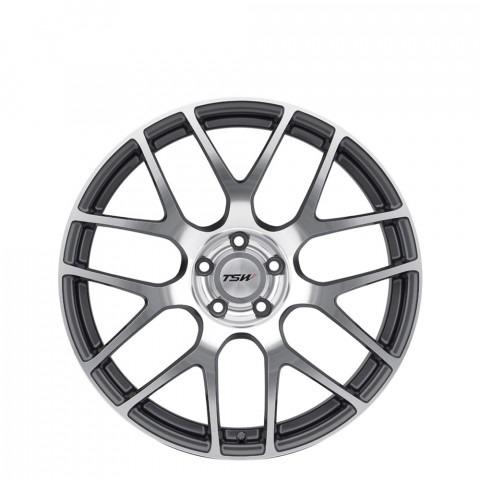 Nurburgring - Gunmetal Mirror Cut Face Wheels