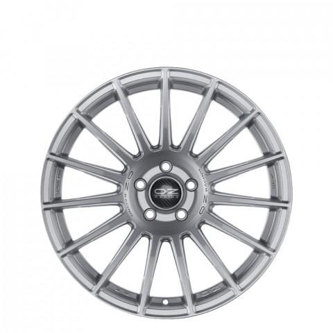 Superturismo Dakar HLT - Matt Race Silver + Black Lettering          Wheels