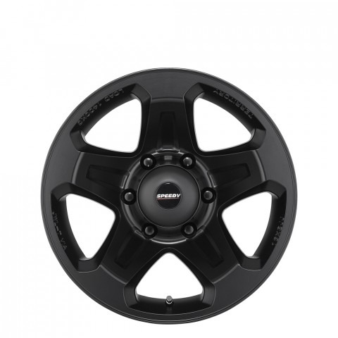 Territory - Satin Black Wheels
