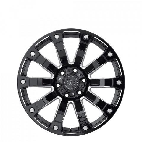 Selkirk - Gloss Black Milled Wheels