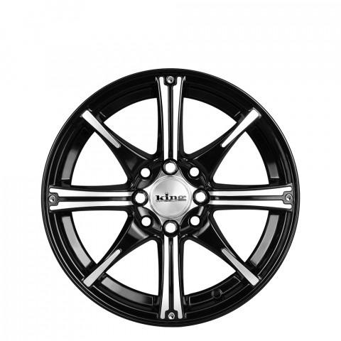 Flexx - Black Machined Wheels