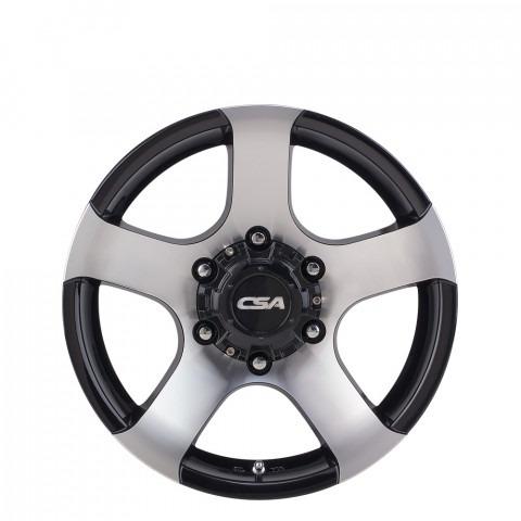 Magnum II - Black M-Face Wheels