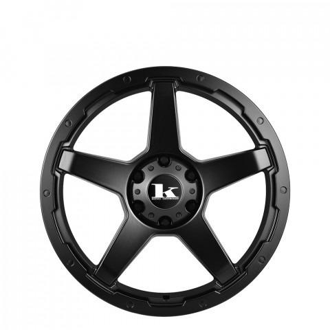 Leech - Satin Black Wheels
