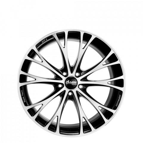 AVT-2 - Gloss Black/Full Polish & Milling Wheels