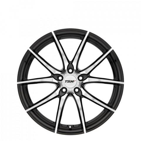 Sprint - Gloss Black W/Mirror Cut Face Wheels