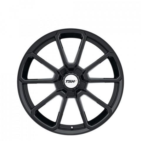 Sonoma - Gloss Black  (Black Hex Nut) Wheels