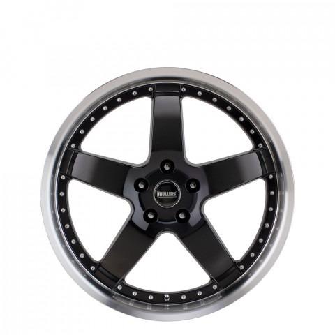 Beretta - Gloss Black Machine Lip Wheels
