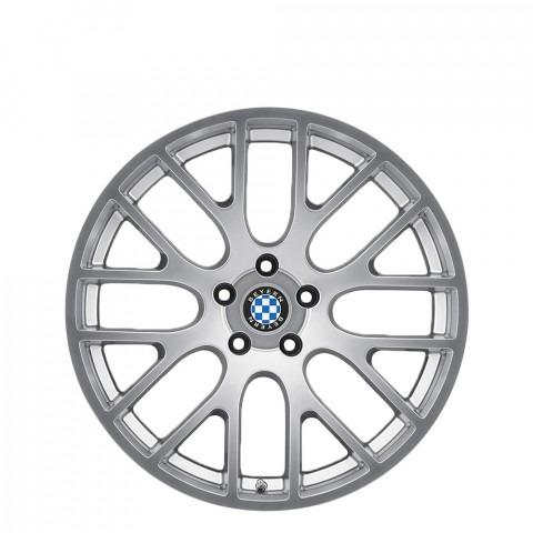 Spartan - Hyper Silver Wheels