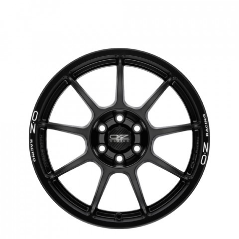 Challenge HLT - Matt Black + White Lettering Wheels