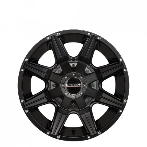Bighorn - Satin Black Wheels