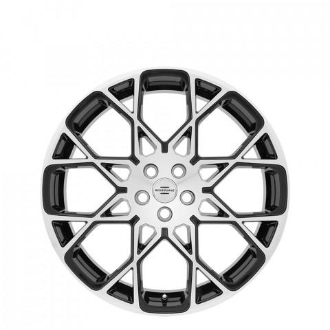 Meridian - Gloss Black W/Mirror Cut Face Wheels