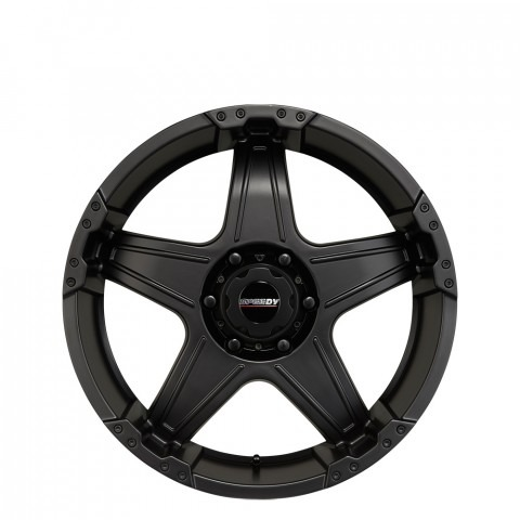 Spur - Satin Black Wheels