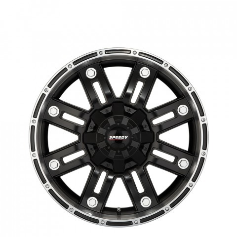 Beast - Satin Black/Satin Machined Wheels