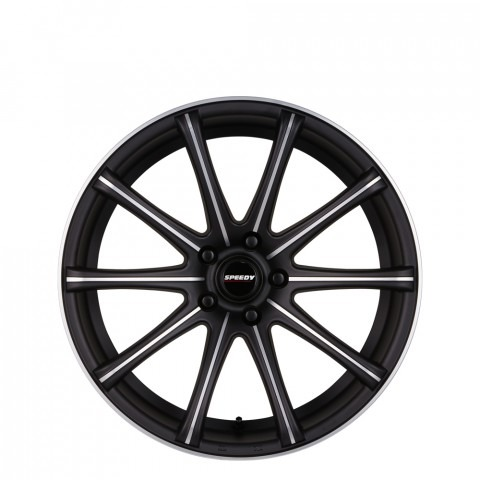 Ignition - Black Suede/Satin Machined  Wheels