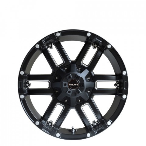 Patriot - Matt Black  Wheels