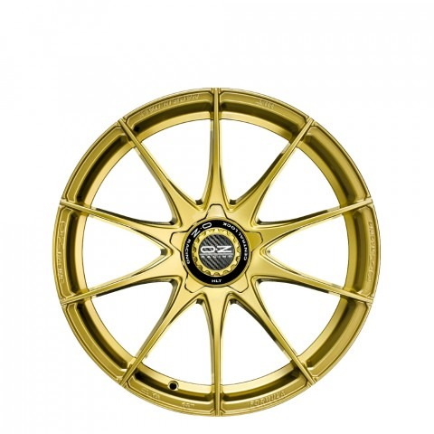 Formula HLT - Race Gold - Centre Lock Cap Wheels