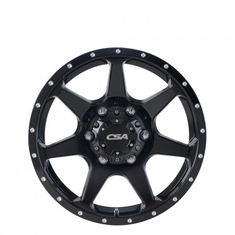 Hawk - Gloss Black Wheels