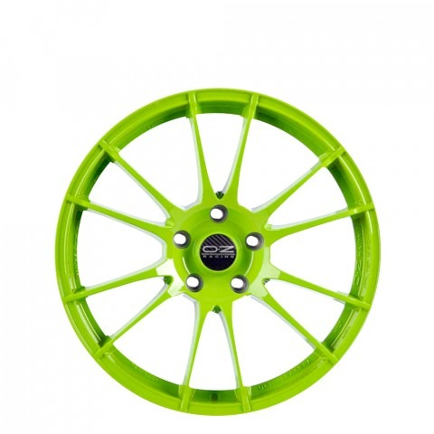 Ultraleggera HLT - Acid Green Wheels