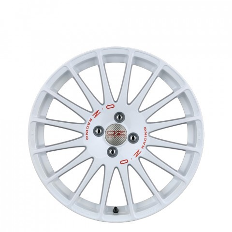 Superturismo WRC - White + Red Lettering Wheels
