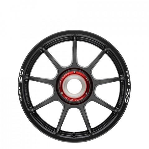 Challenge HLT CL - Matt Black + White Lettering Wheels