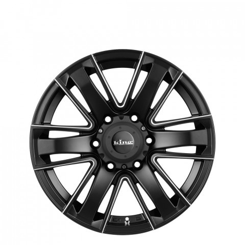 Rok - Satin Black Piped Wheels