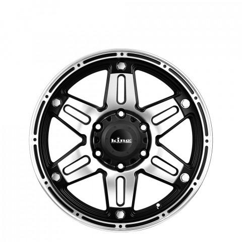 Savage - Machined Black Wheels