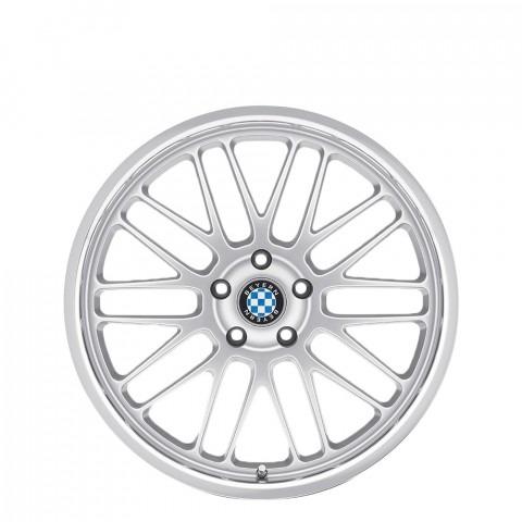 Mesh - Silver W/Mirror Lip Wheels