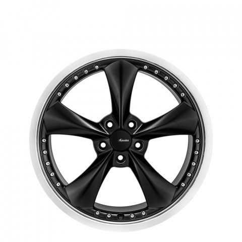 Americana II - Matt Black Lip Polish Wheels