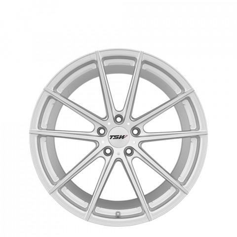 Bathurst - Silver W/Mirror Cut Face Wheels