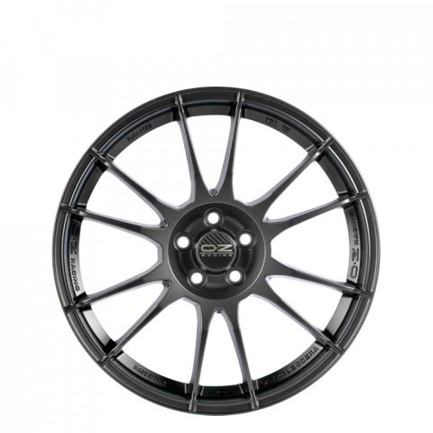 Ultraleggera HLT - Matt Graphite Silver Wheels