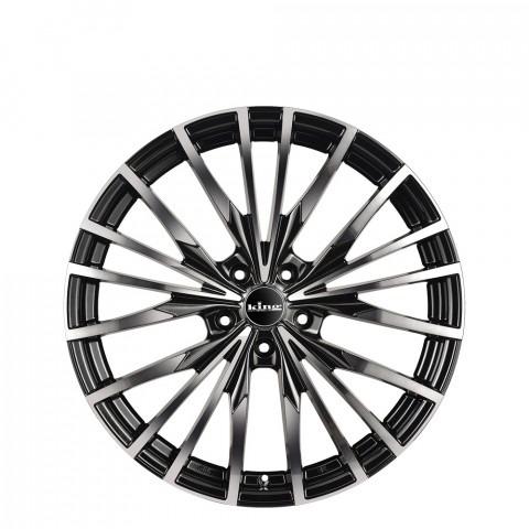 Echo - Gloss Black Black Clear Wheels